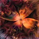 Abstrakt dropp för blomma Fotografering för Bildbyråer