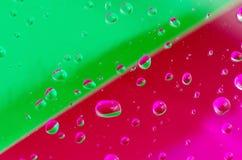 Abstrakt droppar Arkivfoto