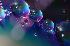 abstrakt droppar Royaltyfri Fotografi