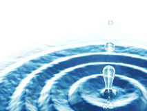 abstrakt droppvatten Royaltyfri Fotografi
