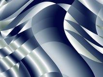 Abstrakt dynamisk bakgrund, blått- och grå färgbakgrundsmodell Royaltyfri Bild