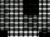 Abstrakt dynamisk geometrisk modern monokrom bakgrund Royaltyfria Foton