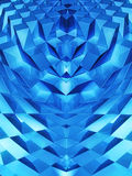 Abstrakt dynamisk kvarterbakgrund Royaltyfri Bild
