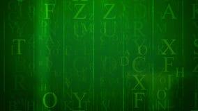 Abstrakt e-bokstav med kolonner och engelskabokstäver Royaltyfria Foton