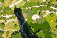 Abstrakt Eiffel torn Fotografering för Bildbyråer