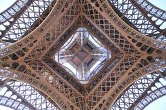Abstrakt Eiffel torn Arkivbilder