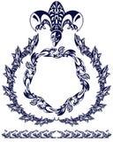 Abstrakt emblem Fotografering för Bildbyråer