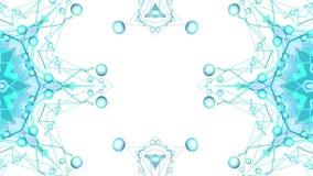 Abstrakt enkel bakgrund 3D i blå lutningfärg, låg poly stil som modern geometrisk bakgrund eller matematiskt vektor illustrationer