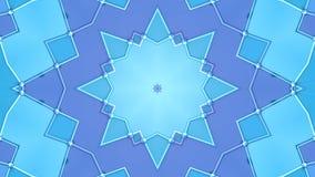 Abstrakt enkel bakgrund 3D i blå purpurfärgad lutningfärg, låg poly stil som modern geometrisk bakgrund eller stock illustrationer