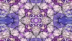 Abstrakt enkel bakgrund 3D i purpurfärgad lutningfärg, låg poly stil som modern geometrisk bakgrund eller matematiskt royaltyfri illustrationer