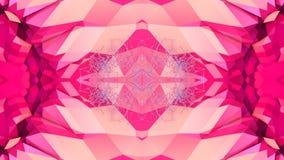 Abstrakt enkel bakgrund 3D i röd purpurfärgad lutningfärg, låg poly stil som modern geometrisk bakgrund eller vektor illustrationer