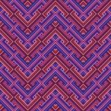 Abstrakt etnisk sömlös geometrisk modell Royaltyfria Foton