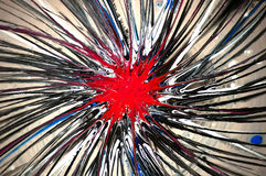 abstrakt explosion Arkivbilder
