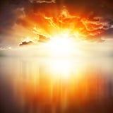 Abstrakt explosion av energi 02 Arkivbild