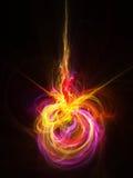 abstrakt explosionillustration Fotografering för Bildbyråer