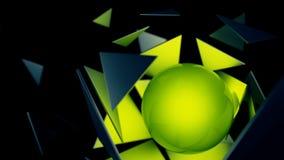 Abstrakt Explotion Arkivbild