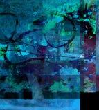 abstrakt exponeringsglas Royaltyfri Bild