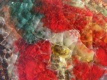 Abstrakt exponeringsglas Arkivbilder