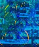 abstrakt exponeringsglas Arkivfoto