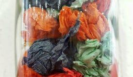 Abstrakt exponeringsglas Färgexponeringsglasbakgrund Arkivbilder