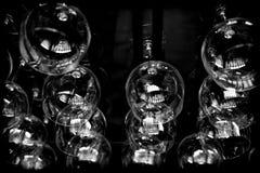 abstrakt exponeringsglaswine Royaltyfri Bild
