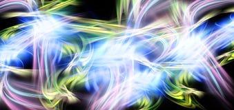 abstrakt färg flödar hastighet Fotografering för Bildbyråer