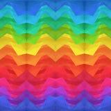 Abstrakt färg kantar gammabakgrund Fotografering för Bildbyråer
