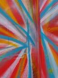 Abstrakt färg på väggarna Royaltyfria Foton