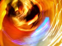 Abstrakt färgbild av suddighetsneon Royaltyfri Bild