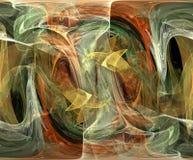abstrakt färger royaltyfri illustrationer
