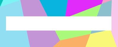 Abstrakt färgglad bakgrund för text 1 Royaltyfri Bild