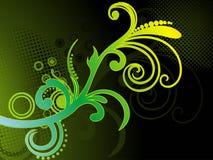 abstrakt färgglad grungeillustration Arkivbild