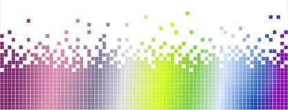 Abstrakt färgglad mosaikbakgrund-pixelated Royaltyfria Bilder
