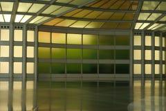 abstrakt färgkorridor Royaltyfri Fotografi