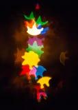 abstrakt färglampor Royaltyfri Foto