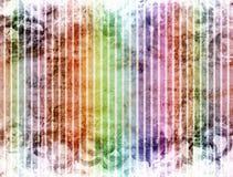 abstrakt färglinjer Royaltyfri Illustrationer