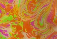 abstrakt färgmålning Arkivbilder