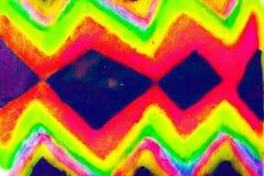 abstrakt färgmix Arkivfoton