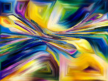Abstrakt färgmodell Royaltyfria Foton