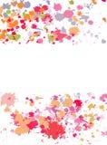 abstrakt färgpulversplats vektor illustrationer