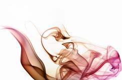 abstrakt färgrök Royaltyfri Foto