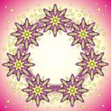abstrakt färgram Royaltyfria Bilder