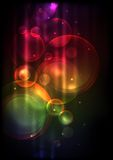 Abstrakt färgrik bakgrund. Arkivbilder