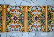 Abstrakt färgrik bakgrund för mosaiktextur Royaltyfria Bilder