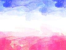 Abstrakt färgrik bakgrund för rammålningtextur och färgrik färgstänk borstar vektor illustrationer