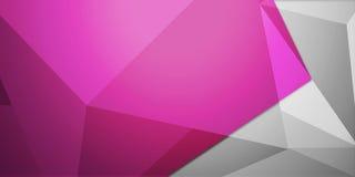 Abstrakt färgrik bakgrund, geometrisk låg poly stil Royaltyfri Fotografi