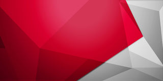 Abstrakt färgrik bakgrund, geometrisk låg poly stil Arkivbilder