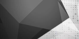 Abstrakt färgrik bakgrund, geometrisk låg poly stil Arkivfoto