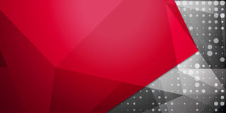 Abstrakt färgrik bakgrund, geometrisk låg poly stil Arkivfoton