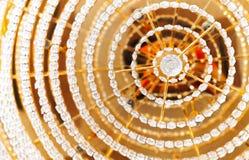 Abstrakt färgrik bakgrund med crystal element Arkivfoto